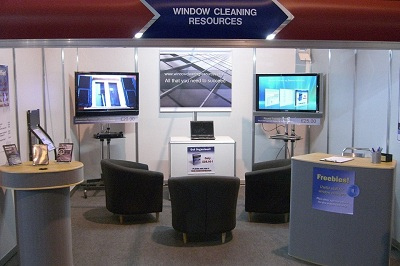 Window Cleaning Resources Stand - Windex