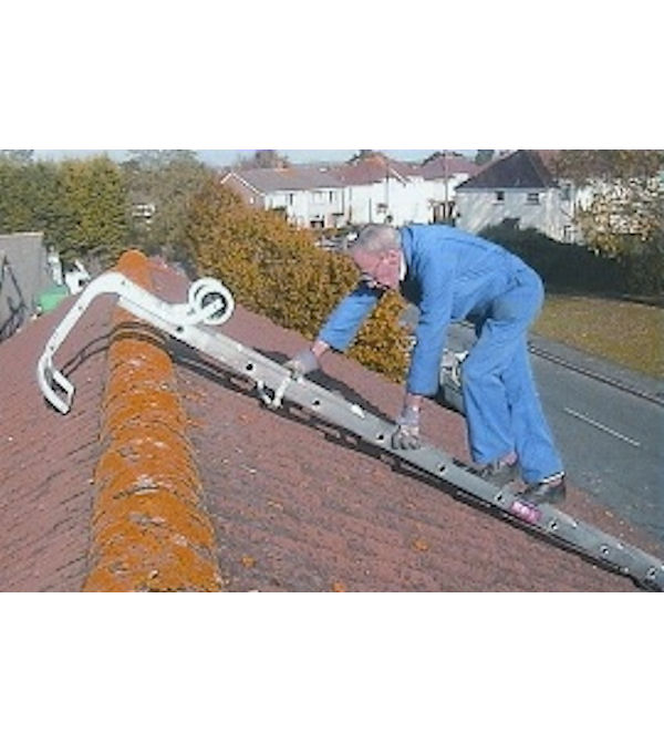 Using roof ladders to clean your windows – Window Cleaning