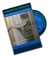 Advanced Window Cleaning Skills - Ladderless window cleaning using traditional methods