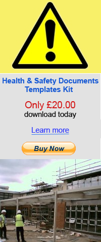 Health and safety documents for window cleaners