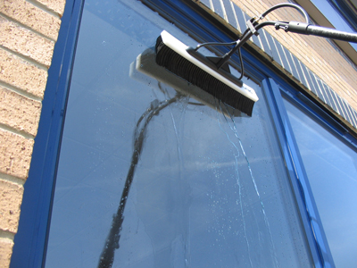 Water fed pole window cleaning information
